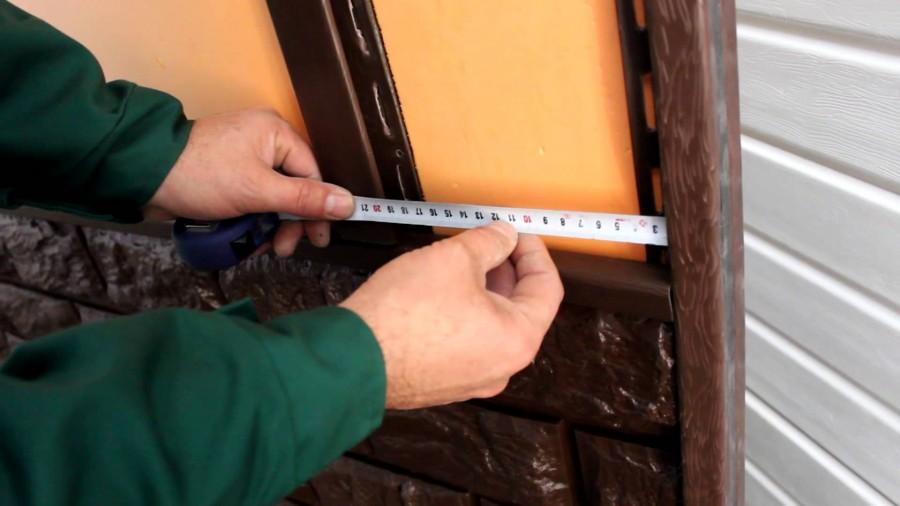 металлосайдинг под кирпич инструкция
