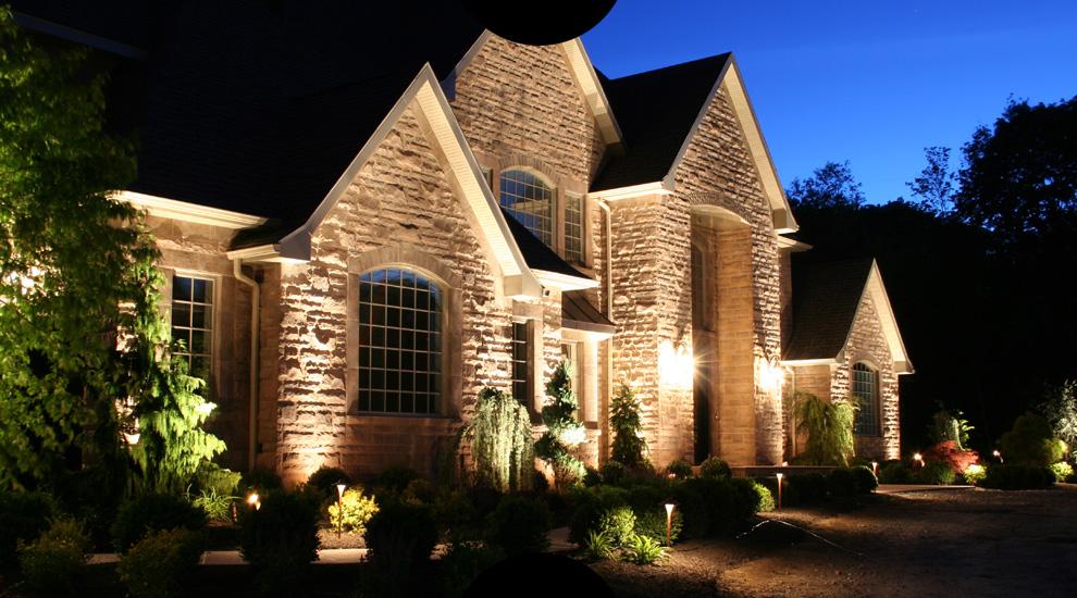 архитектурная подсветка фасадов