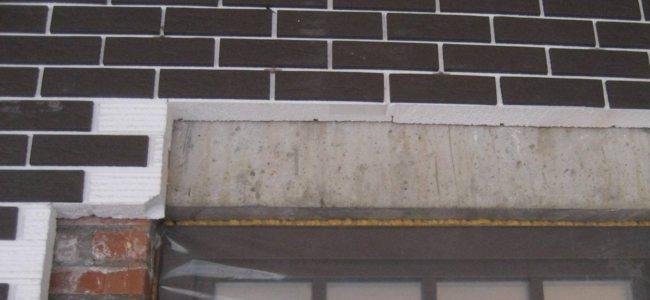 Большая часть панелей поставляется с незатертыми швами. Предстоит дополнительная работа, от которой сильно зависит внешний вид фасада.