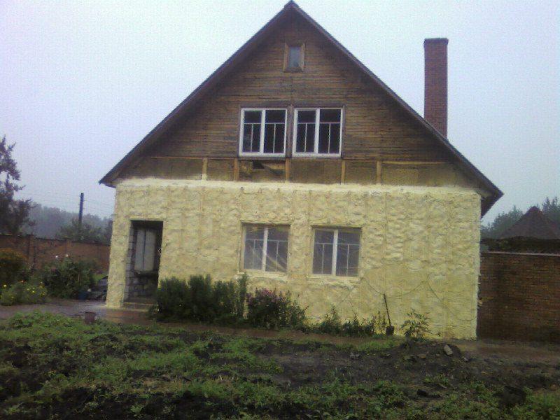 чем утеплить фасад деревянного дома