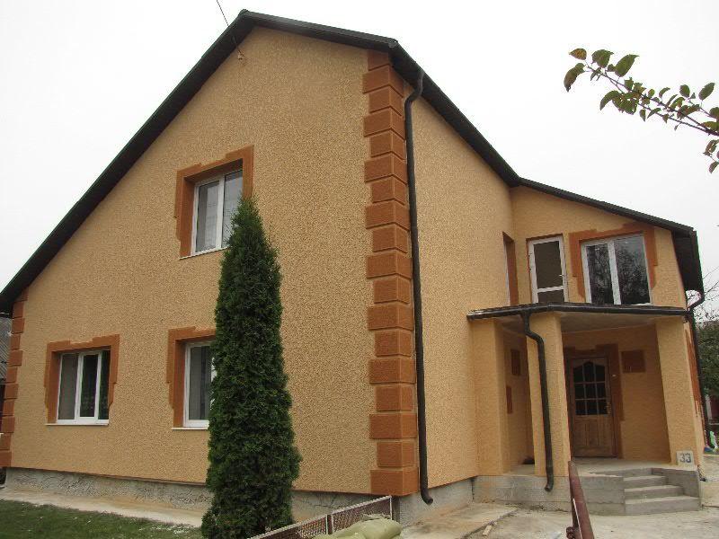 декоративные фасады домов
