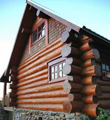 деревянные фасады домов