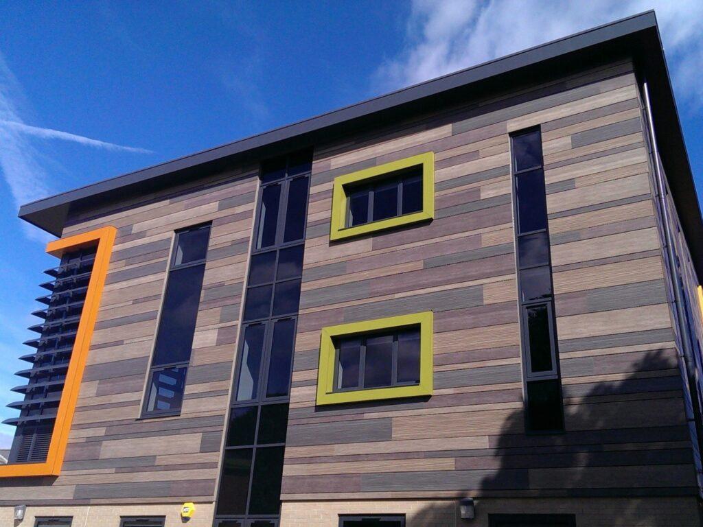 деревянные панели для фасадов