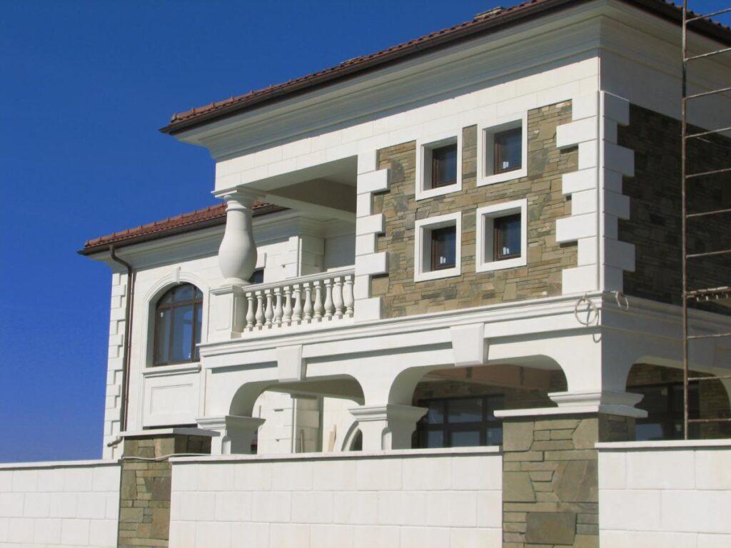 дизайн фасадов коттеджа