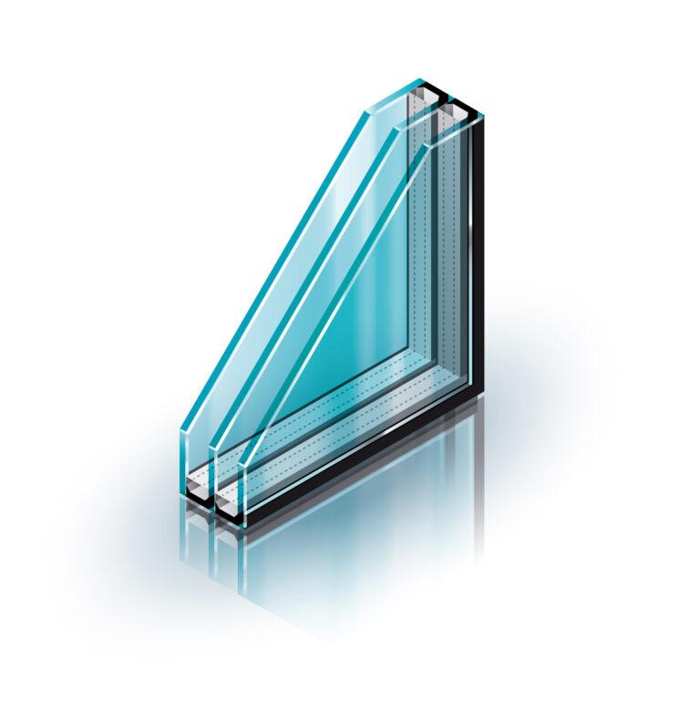 Дополнительное стекло резко уменьшит конвекционный перенос тепла
