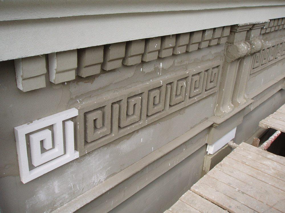 Фасадные элементы из бетона – оригинальный дизайн