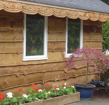 фасадная доска из лиственницы