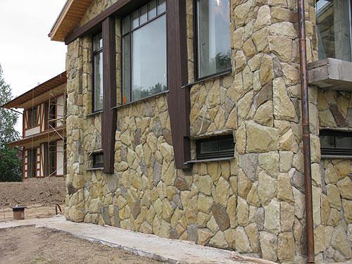 фасадная отделка домов
