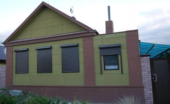 фасадные декоративные элементы из пенополистирола