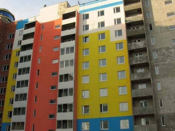 фасадные краски по бетону