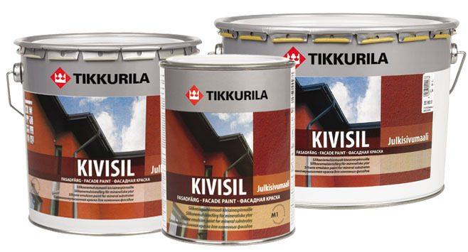 Краски Тиккурила фасадные Kivisil