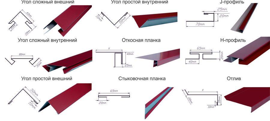 фасадные панели из металла