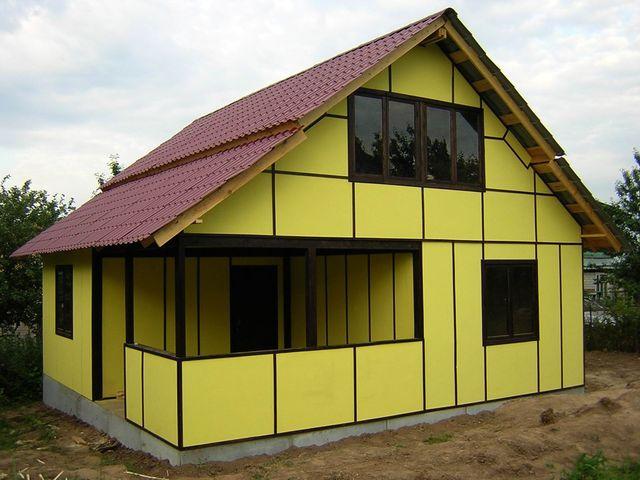фасадные панели из вспененного полиуретана