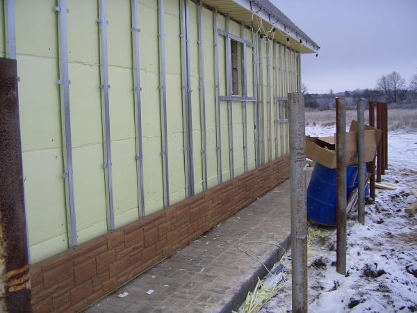 Фасадные панели под природный камень. Монтаж