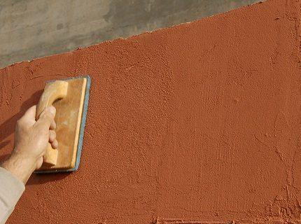 фасадные шпаклевки