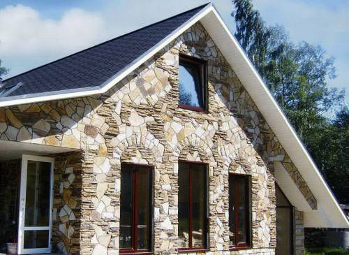 фасадный декор из камня