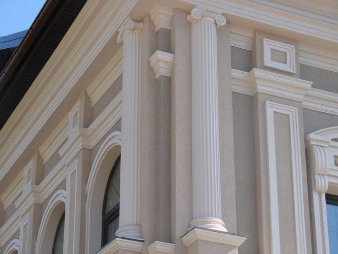 Эти изделия из полиуретана изготовляются для эстетики и эксклюзивности архитектурного ансамбля.