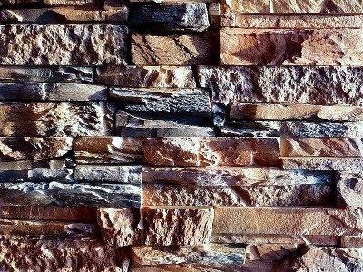 Вид искусственного камня