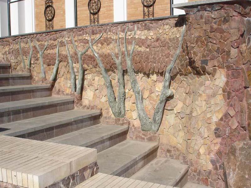 фасадный облицовочный камень