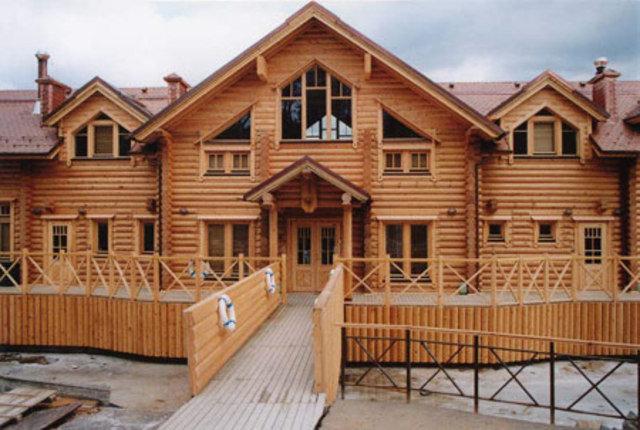 Деревянный фасад всегда актуален