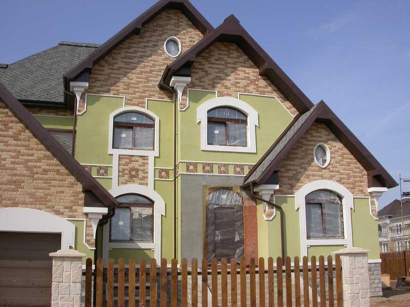 фасады домов современные