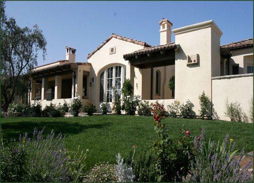 фасады домов в стиле прованс