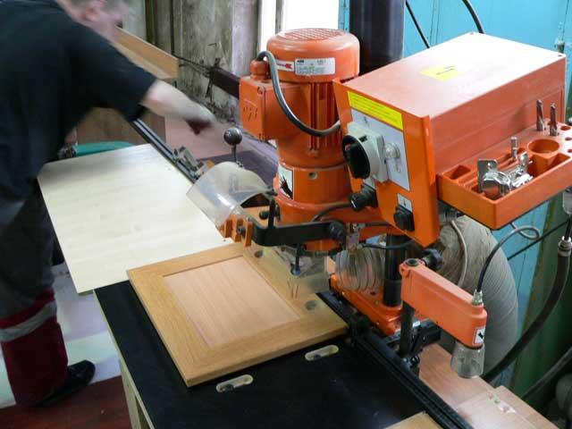 Процесс изготовлеия рамочных фасадов