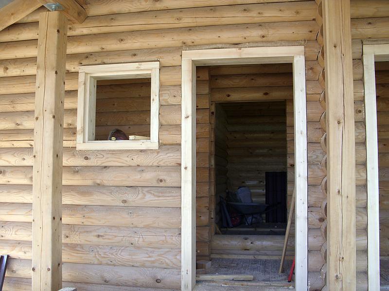 Готовые конструкции дверного и оконного проема