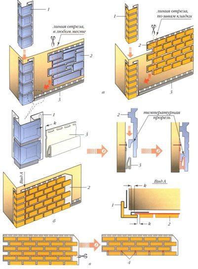 Инструкция монтажа сайдинга по технологии «шип в паз»