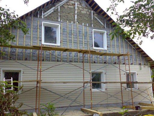 Вот так должен выглядеть ваш дом на заключительной стадии фасадных работ