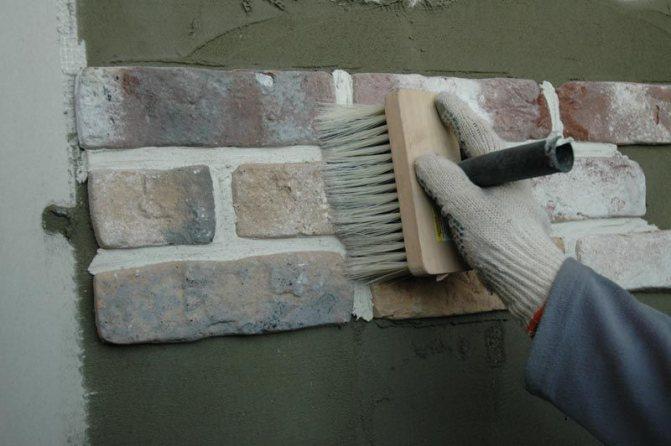 искусственный камень для отделки фасадов