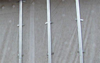 Готовый каркас для монтажа металлосайдинга