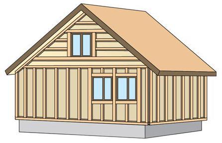 как обшить деревянный дом сайдингом своими руками