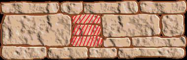 Кладка камя на фасад