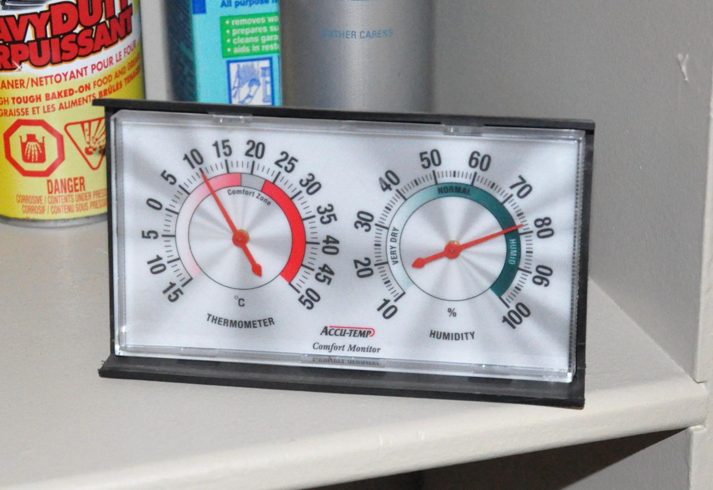 Комнатный прибор контроля климата в помещении