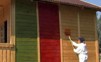 краска для деревянных фасадов