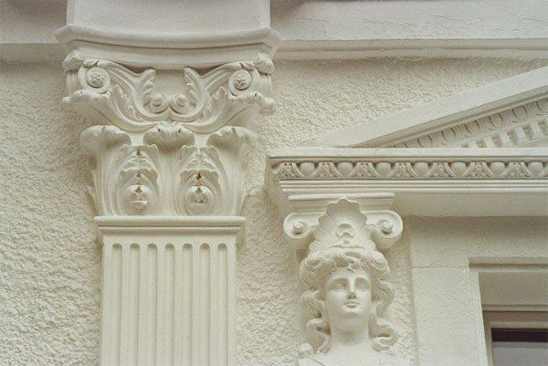 лепной фасадный декор