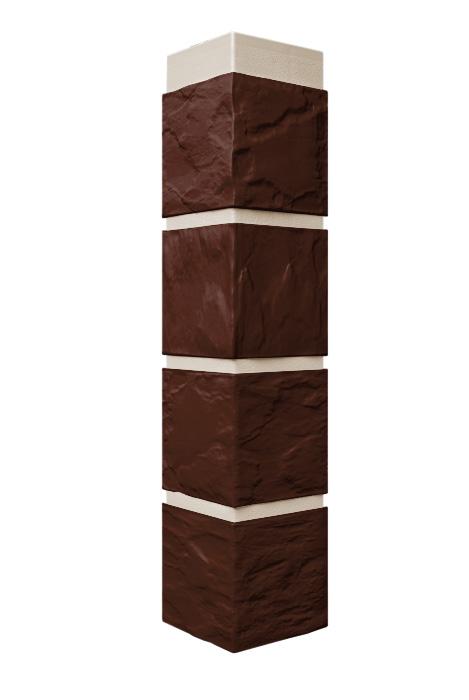 Угловой наружный профиль для цокольного сайдинга
