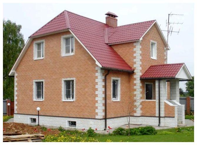 Фото отделки дома плиткой фасадной