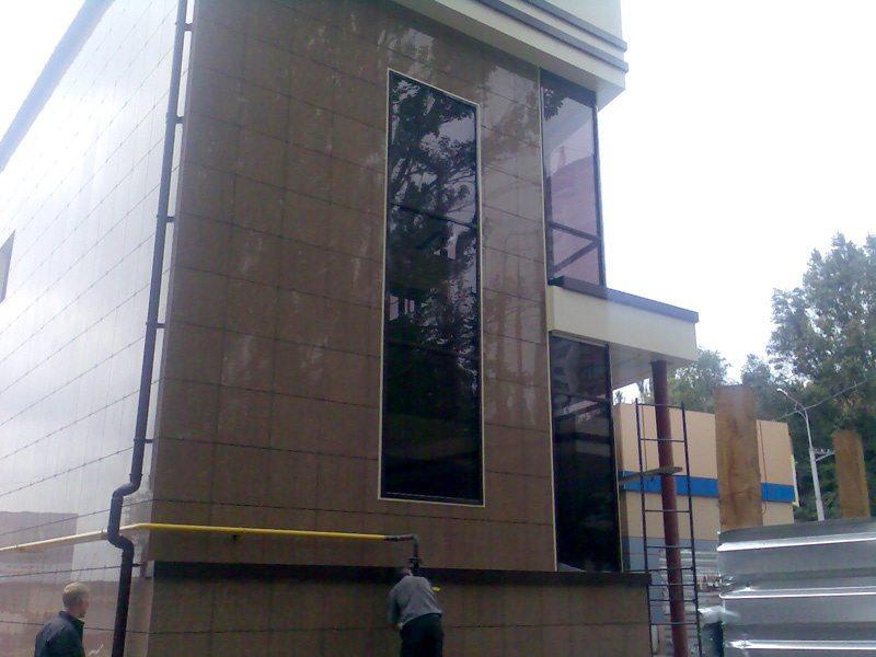 навесные фасадные панели