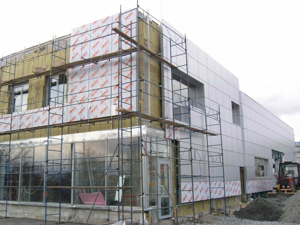 навесные фасады для коттеджей