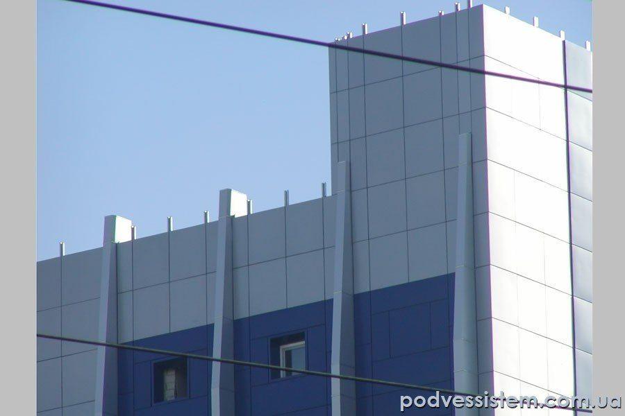 Пример навесного фасада