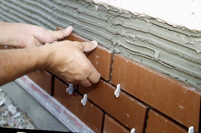 облицовка фасада керамической плиткой
