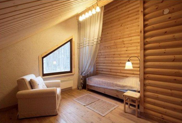 облицовка помещения блок хаусом