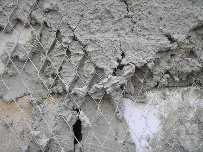 Укрепление слоя штукатурной сеткой