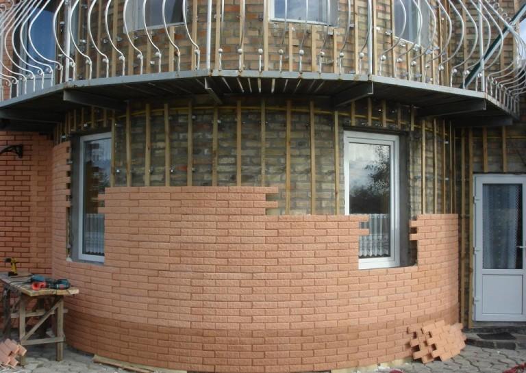 облицовочные материалы для фасадов