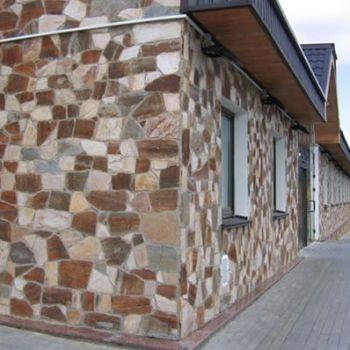 облицовочный натуральный фасадный камень