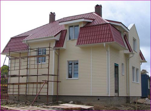Облицовка дома сайдингом – эффектно и просто