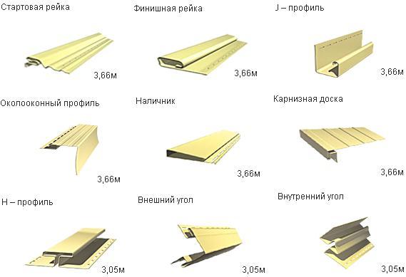 Аксессуары для отделки домов сайдигом