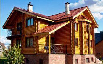 окраска деревянных фасадов